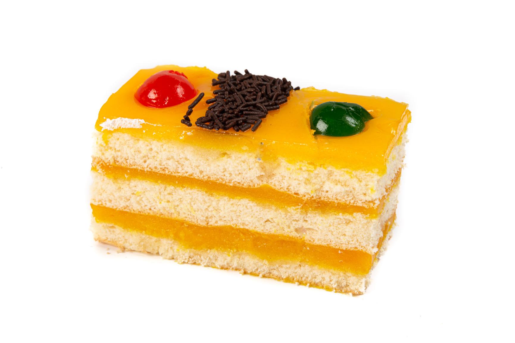 Cortado de Crema - Bizcocho y crema pastelera